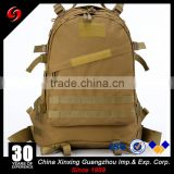 black/khaki heavy duty expandable 30L tactical military Molle assault backpack outdoor waterproof bag for sports