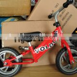 Boys and girls comfortable balance bike