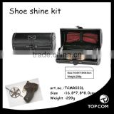 Shoe Care Kit Polish Brush Outdoor Travel Shoe Shine Kit Keeps Leather Shoes Shinny Cleaning Tools