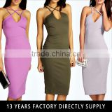latest party wear frock suits design for girls sexy baxk split bodycon dress