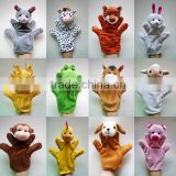 Customized wholesale cheap hand puppets making finger puppet