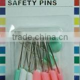 Useful plastic Colorful Headed safety pins from Manufacturer for baby