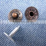 Metal Decorative Brass Rivets for Jeans Accessory