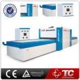 Hot Glue Two Working Position Curved Membrane Vacuum Laminating Machine