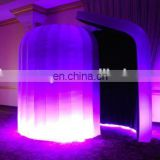 Best inflatable LED tent photo booth enclosure inflatable photo booth