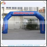 Promotion inflatable arch,durable &portable inflatable race archway, blue inflatable welcome arch for outdoor display