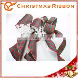 Classical Novelty Ribbon Christmas Lace For Home Decoration