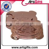 Wholesale cheap custom metal automatic buckle belt