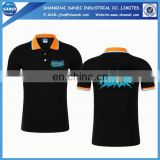 High quality promotional custom mens t-shirt polo