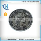 Promotional US cheap personalized souvenir 2d custom engraved marnine corps air force navy military army challenge coin