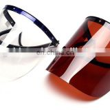 safety PC chemical heat resistance medical protection face shield