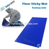 Cleanroom 30 layers peel-off adhesive sticky mat manufacturer and supplier from nabai