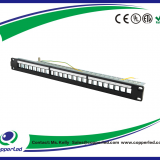FTP Blank Patch Panel 24Port with back bar