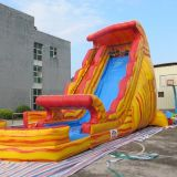 Inflatable slip and slide inflatable water slide axs-11