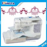 domestic embroidery machine for working room or family