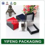 Wedding ceremony luxury packaging paper gift box for watch
