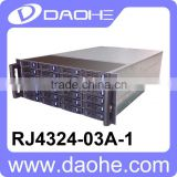 4U 24 HDD mini SAS Disk Array JBOD Solution