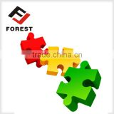 Supplied colorful children Jigsaw puzzle, puzzle game, paper puzzle printing.