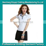Wholesale Alibaba China Alibaba Clothing Manufacturer Woman Clothing Polo T Shirt & Skirt