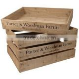 Wholesale Wooden dry fruit gift box , Wooden fruit box, Wood fruit tray