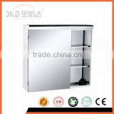 Stainless steel Mirror Cabinet 6370,single door,3 tiers,mirror polished 6370                                                                         Quality Choice