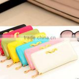 Woman/Lady's Classic fashion style PU Wallet/Purse/Card holder/Burse/Notecase/billfold/pocket book