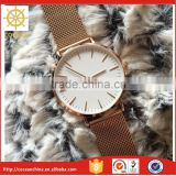 Rose Gold Print Lady Fashion Wholesale Quartz Movement Japan Movt Quartz Watches                                                                         Quality Choice