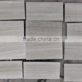 white wooden marble tile