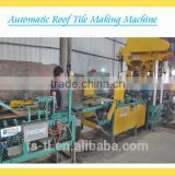 auto roofing tile double acting fin press line /patented steel press machine TL-AUTOYWJ-IIW
