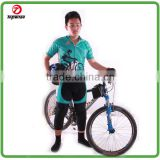 High quality quick dry coolmax fabric custom design Superman cycling jersey