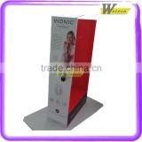 Shop sales promotion and anniversary for fruit juice cardboard advertising display stands