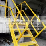 Anti-corrosion fiberglass fence/guardrail/handrail, ideal for cooling tower, chemical plant, water treatment