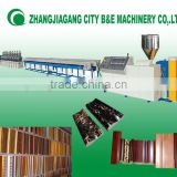 CE STANDARD HIGH QUALITY POLYSTYRENE FOAMING PHOTO FRAME PRODUCTION LINE, PS FOAMING FRAME PRODUCTION LINE