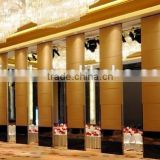 china manufacturer aluminum movable partition and vertical folding partitions for banquet hall