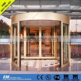 2015 KBB 2 wings Automatic glass Revolving Door