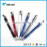 Personalized logo items classical metal pen touch stylus with logo wholesale metal ballpoint pen