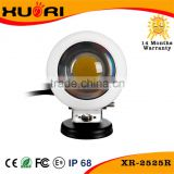 XR Auto Parts Factory IP67 25W round stand projector LED work light small led search work lamp with CE ROHS