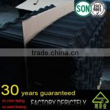 real facotory selling hot model Anti-UV Heat Insulation Milan Stone Chips Coated Metal Roofing