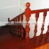 Red oak handrail solid wood hand-carved stair pillar