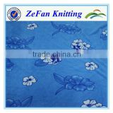 Full print coral fleece material for blanket