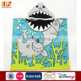China Wholesale high quality microfiber animal hooded beach towels for children