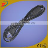 High quality perforated flat iron power cord