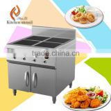 4 heads 3.5KW industrial stainless steel commercial electric induction stove wok for soup pot M435