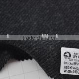 Wholesale twill wool nylon woolen tweed fabric for coats
