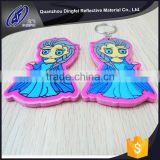 hot sale top quality best price heat press printing souvenirs key reflective accessories