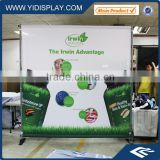 Telescopic Back Drop Display Trade Show Printing