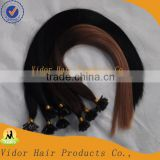 Wholesale Cheap Human Hair 5A quality 100% virgin remy I-tip brazilian human hair extension