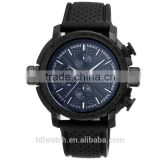 oem silicone chronograph watch Sport Army Wrist black watches