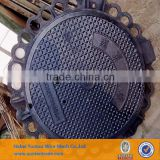 Access Manhole Cover bs EN124 B125 / Sanitary Sewer Manhole Cover/ GRP Manhole Lid