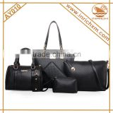 Best Seller New Pattern 6pcs Synthetic Leather Ladies Handbag Online Shopping                                                                         Quality Choice                                                     Most Popular